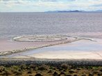 Spiral Jetty Land Art - miniatura